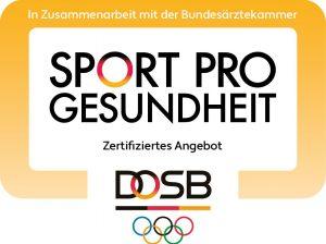 Gütesiegel Sport Pro Gesundheit